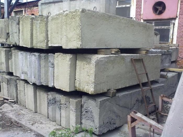 Марка бетона фбс известково цементный раствор м150