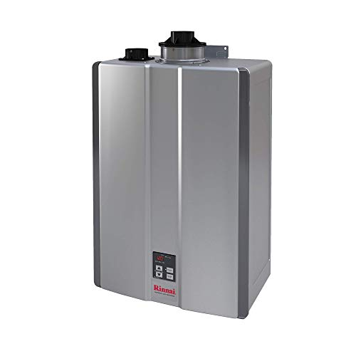 Rinnai RU199iN Sensei Super High Efficiency Tankless Water Heater, 11 GPM - Natural Gas: Indoor Installation