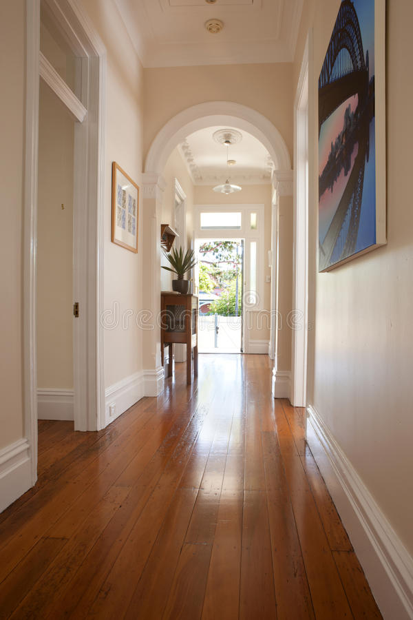 Interior Hallway Entrance Doorway royalty free stock images
