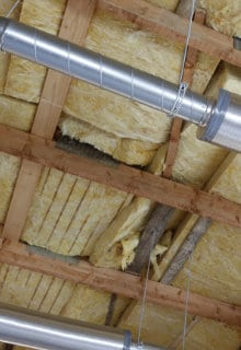 insulate a ceiling