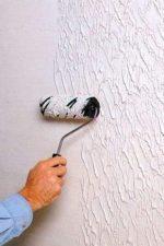 Фактурная покраска стен – способы нанесения декоративной отделки (фото, мастер-класс)