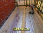 Как сделать деревянный пол на балконе – пошагово, с фото и видео