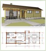 Проект бани с террасой и барбекю – Проекты бань с террасой и барбекю: фото, планировка, месторасположение