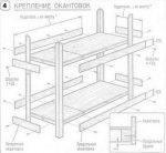 Как собрать 2 ярусную кровать инструкция – Схема сборки двухъярусной кровати: требования и крепление