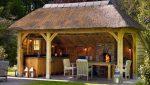 Летняя кухня на даче своими руками из подручных материалов – Простая конструкция летней кухни своими руками