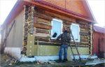 Утепление стен деревянного дома снаружи – Как утеплить деревянным дом снаружи и чем