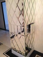 Зеркальное панно с фацетом фото – Украшаем интерьер зеркалами с фацетом, фото-примеры – Rehouz