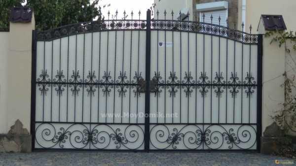 Как выбрать ворота из ковки