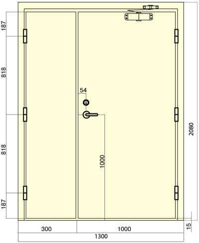 размеры входной двери в дом стандартные высота и ширина